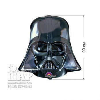 Фольгированный шар «Шлем Вейдера»