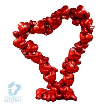 фигура из шаров сердце