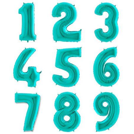 фольгированная цифра