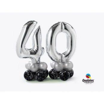 Цифры из шаров «Лаконичные сорок»