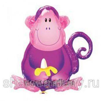 фольгированный шар обезьяна