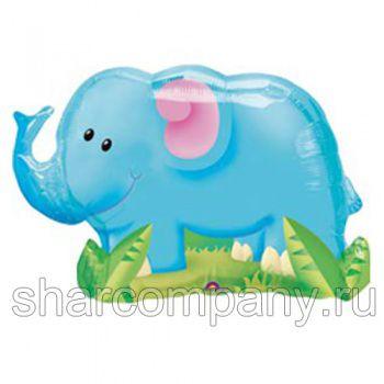 фольгированный шар слон