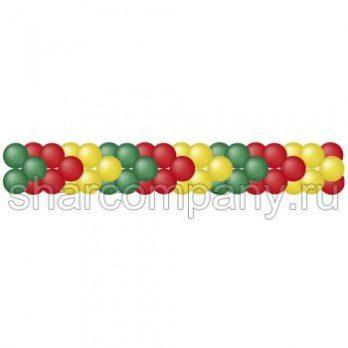 Гирлянда из воздушных шаров «Стрелки»