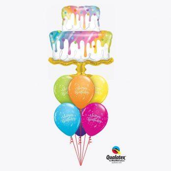 Букет из шаров «Сладкий День Рождения»