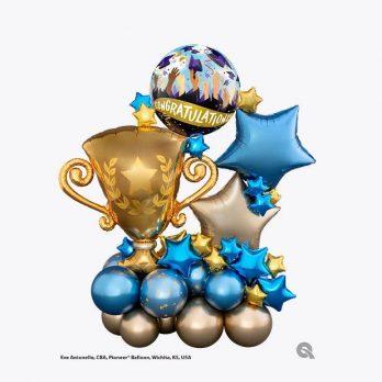 Композиция из шаров «Ты звезда!!!»