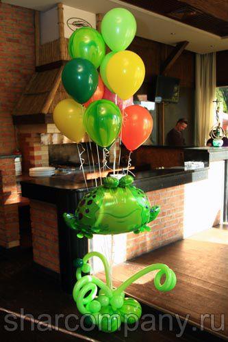 купить букет из воздушных шаров