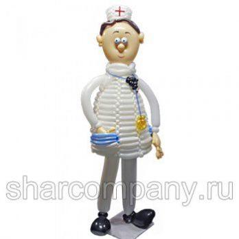 Фигура из шаров «Доктор Пилюлькин»