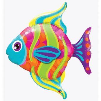 """Фольгированный шар """"Яркая рыбка"""""""