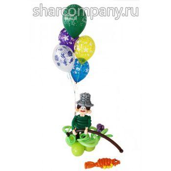рыбак из шариков