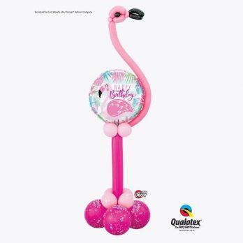 Фигура из шаров «Счастливый фламинго»