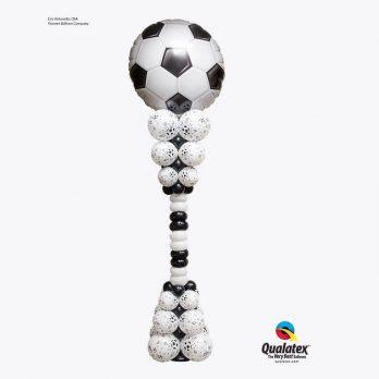 Стойка из шаров «Выход в полуфинал»