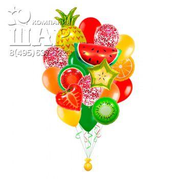 букет из шаров сочные фрукты
