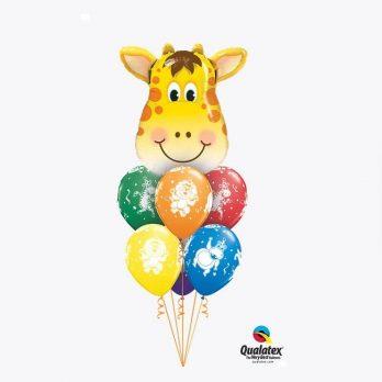 Букет из шаров «Веселый жираф»