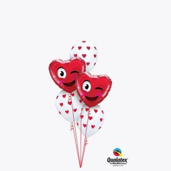 Букет воздушных шаров «Не говори ни слова»