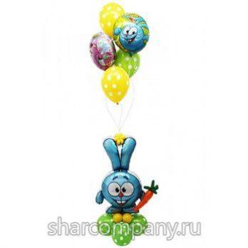 Букет воздушных шаров «Крош»