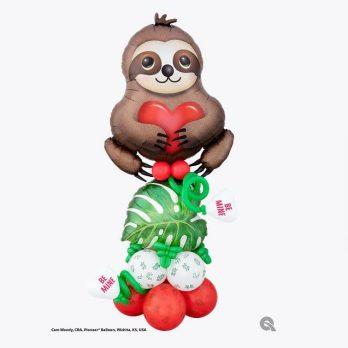 Композиция из шаров «Медленная любовь»