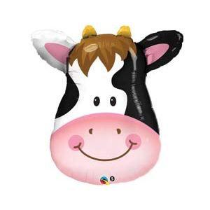 фольгированный шар корова