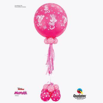 Композиция с шаром «Минни Маус»