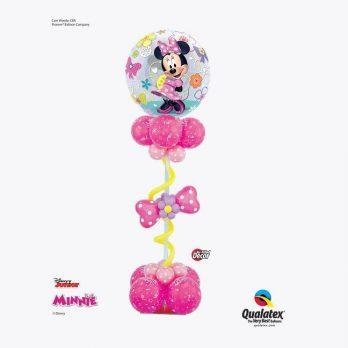 Стойка из шаров «Минни Маус в розовом»