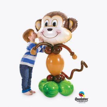 Фигура из шаров «Озорная обезьяна»