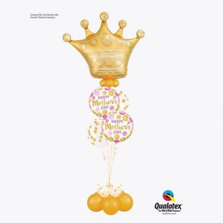 """Букет из шаров """"Настоящей королеве"""""""
