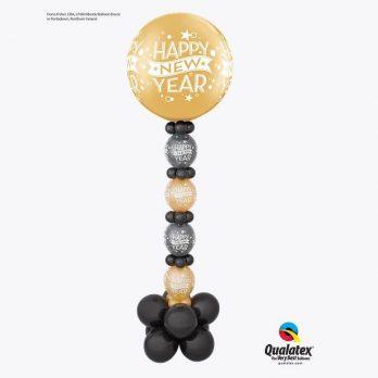 Стойка из шаров «Новогодние конфетти»