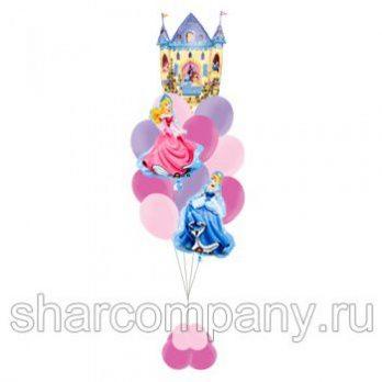 Букет из шаров «Принцессы Дисней»