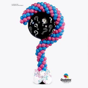 Стойка из шаров «Мальчик или девочка?»