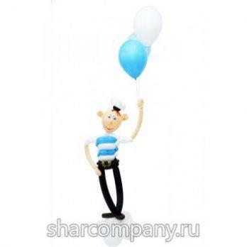 Фигура из шаров «Матрос»