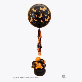Композиция из шаров «Страх и ужас»