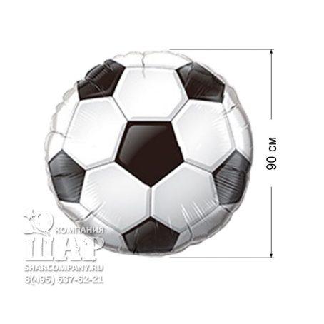 Фольгированный шар «Футбольный мяч. Большой»