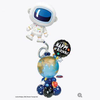 Композиция из шаров «Выход в космос»