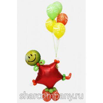 """Фигура из шаров """"Поздравление звезды!"""""""