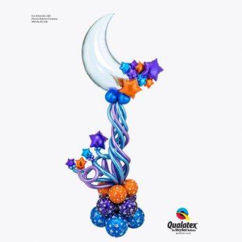 Стойка из шаров «Космическая симфония»