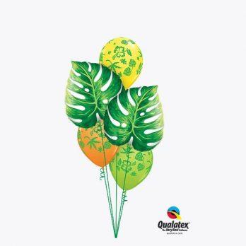 Букет из шаров «Жаркие тропики»