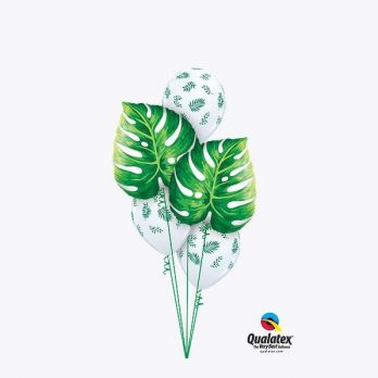 Букет из шаров «Тропическая прохлада»