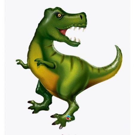 фольгированный шар динозавр тиранозавр