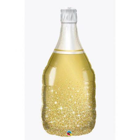 """Фольгированный шар """"Бутылка золотая"""""""