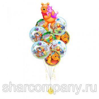 Букет из шаров «Милый Винни Пух»