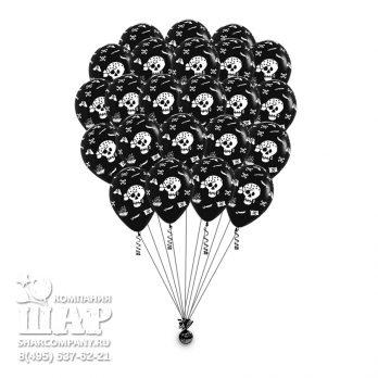 """Гелиевые шары """"Черная метка"""""""
