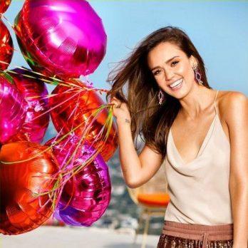 Воздушные шары как у Джессики Альбы