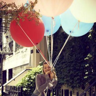 Воздушные шары как у Марго Робби