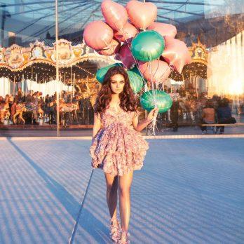 Воздушные шары как у Милы Кунис