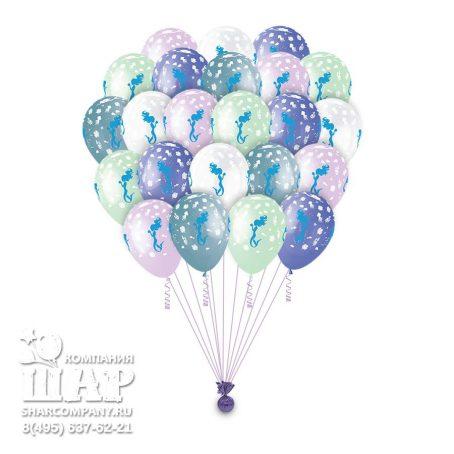 """Гелиевые шары """"Волшебные русалки"""""""