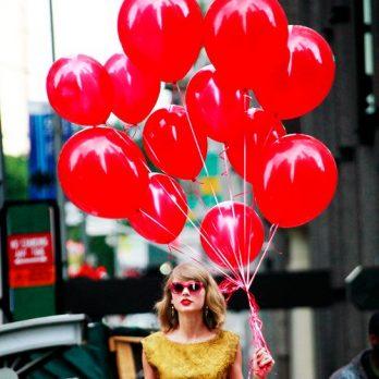 Воздушные шары как у Тейлор Свифт