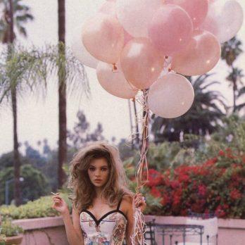 Воздушные шары как у Кейт Мосс
