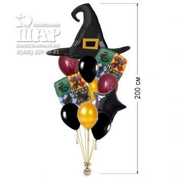 Букет из шаров «Распределяющая шляпа»