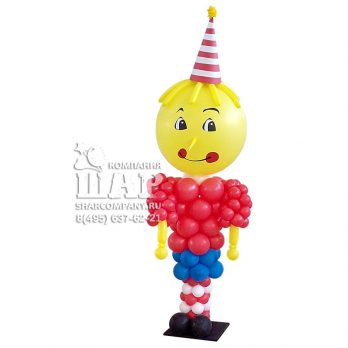 "Фигура из шаров ""Буратино"""