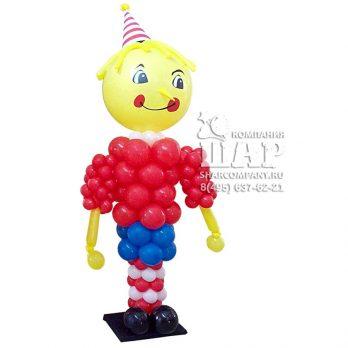 Фигура из шаров «Буратино большой»