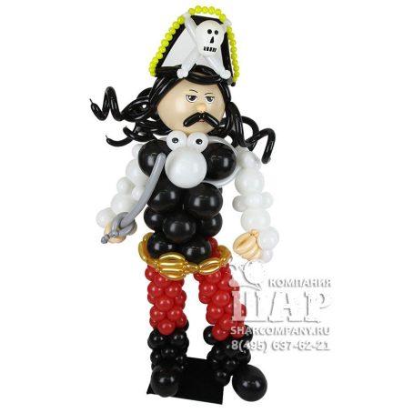 """Фигура из шаров """"Пират Джек Воробей"""""""